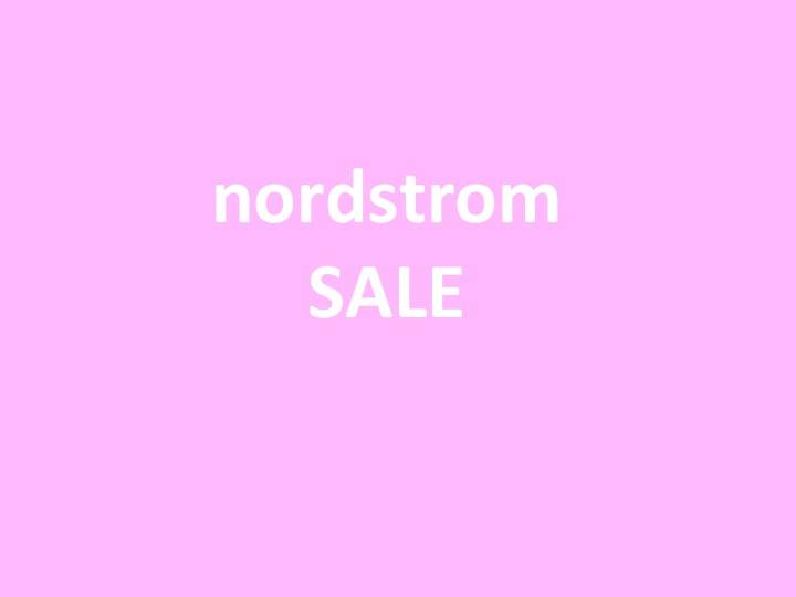 nordstrom fall sale + $1,000 giveaway